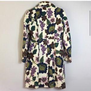 Boden Jackets & Coats - Boden Floral Long Pea Coat